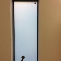 東京都日野市 浴室窓の目隠しフィルム施工 S様宅