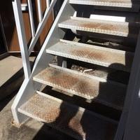 東京都福生市 屋外階段・廊下の鉄骨塗装のサムネイル