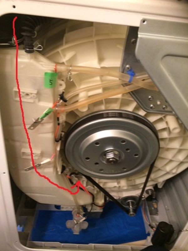 東京都日野市 ドラム式洗濯機の異物除去 D様
