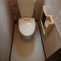東京都昭島市 トイレ 床 張り替え W様