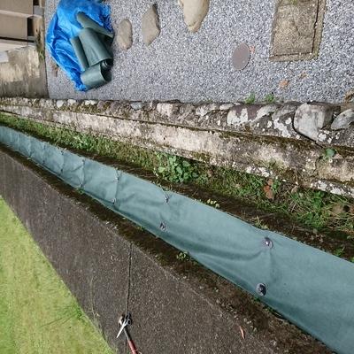 東京都奥多摩 庭の草むしり、剪定、防草シート施工 M様邸